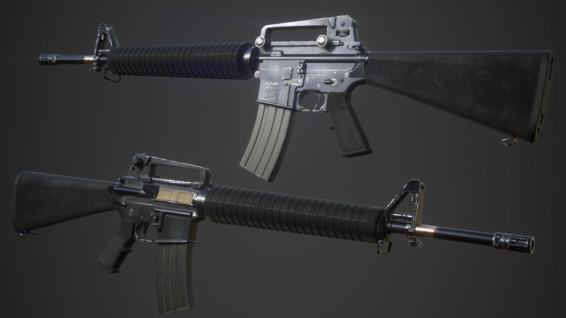pavel bekesky m16a4 assault rifle