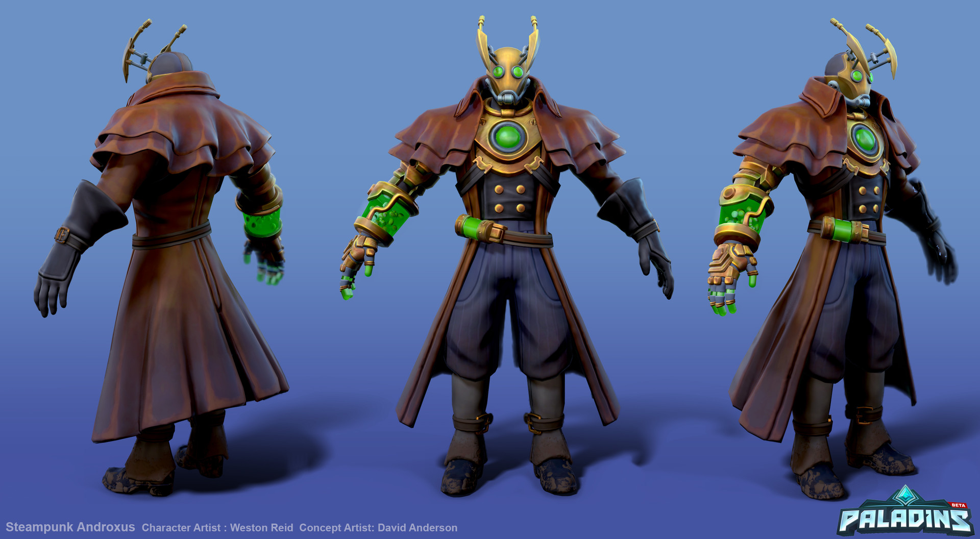 Weston reid steampunk androxus ortho