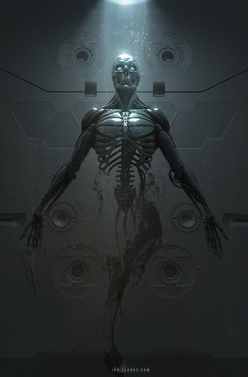 Print available - https://www.inprnt.com/gallery/ianllanas/cyborg-birth/