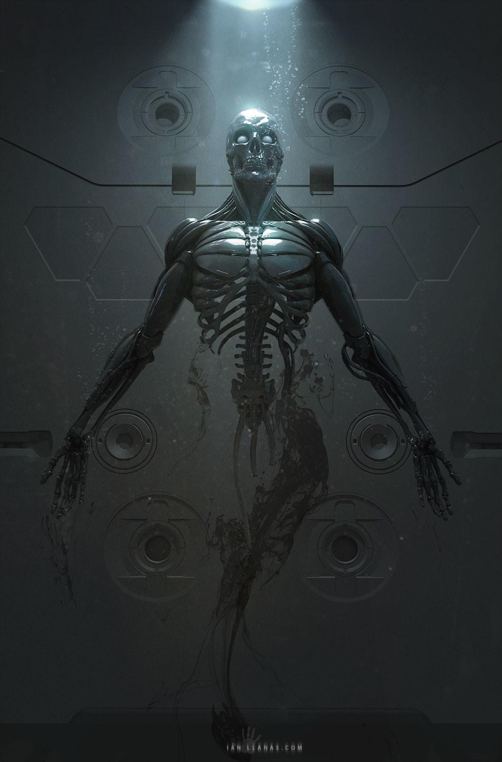 Print available - https://www.inprnt.com/gallery/ianllanas/cyborg-birth/
