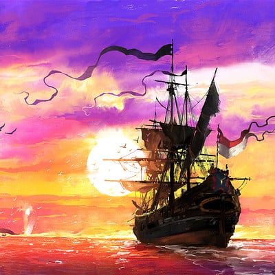 The Whaler - Sunset