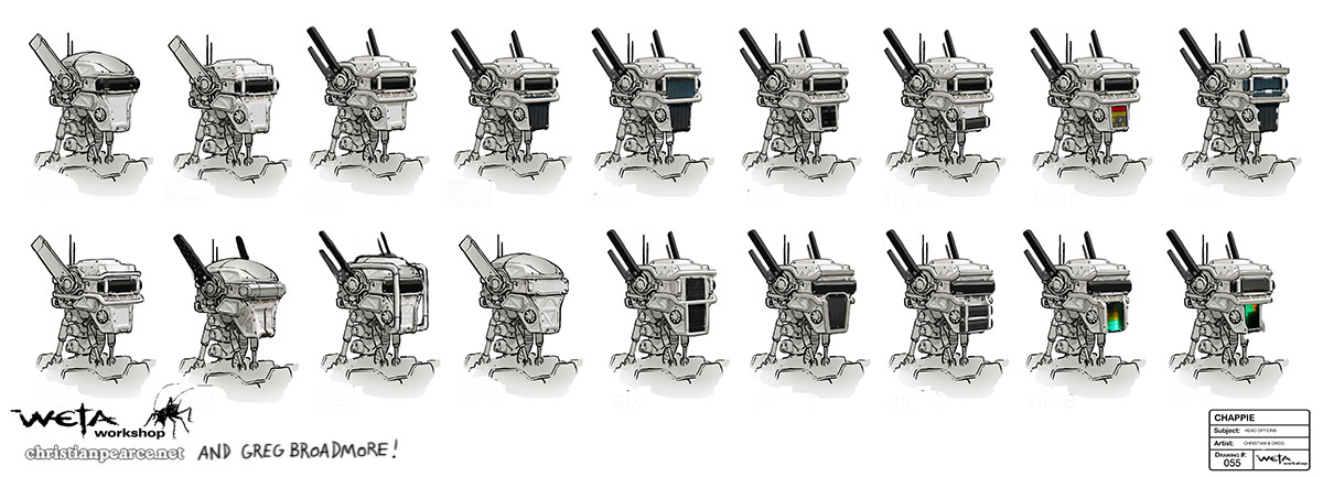 Christian pearce chappie headvariations pearce