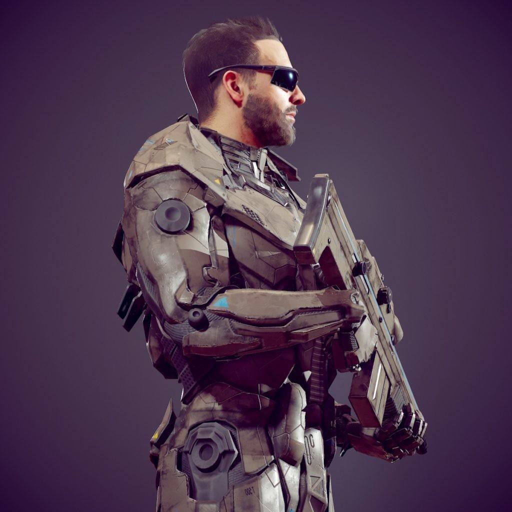 Michael weisheim beresin scifi soldier 17