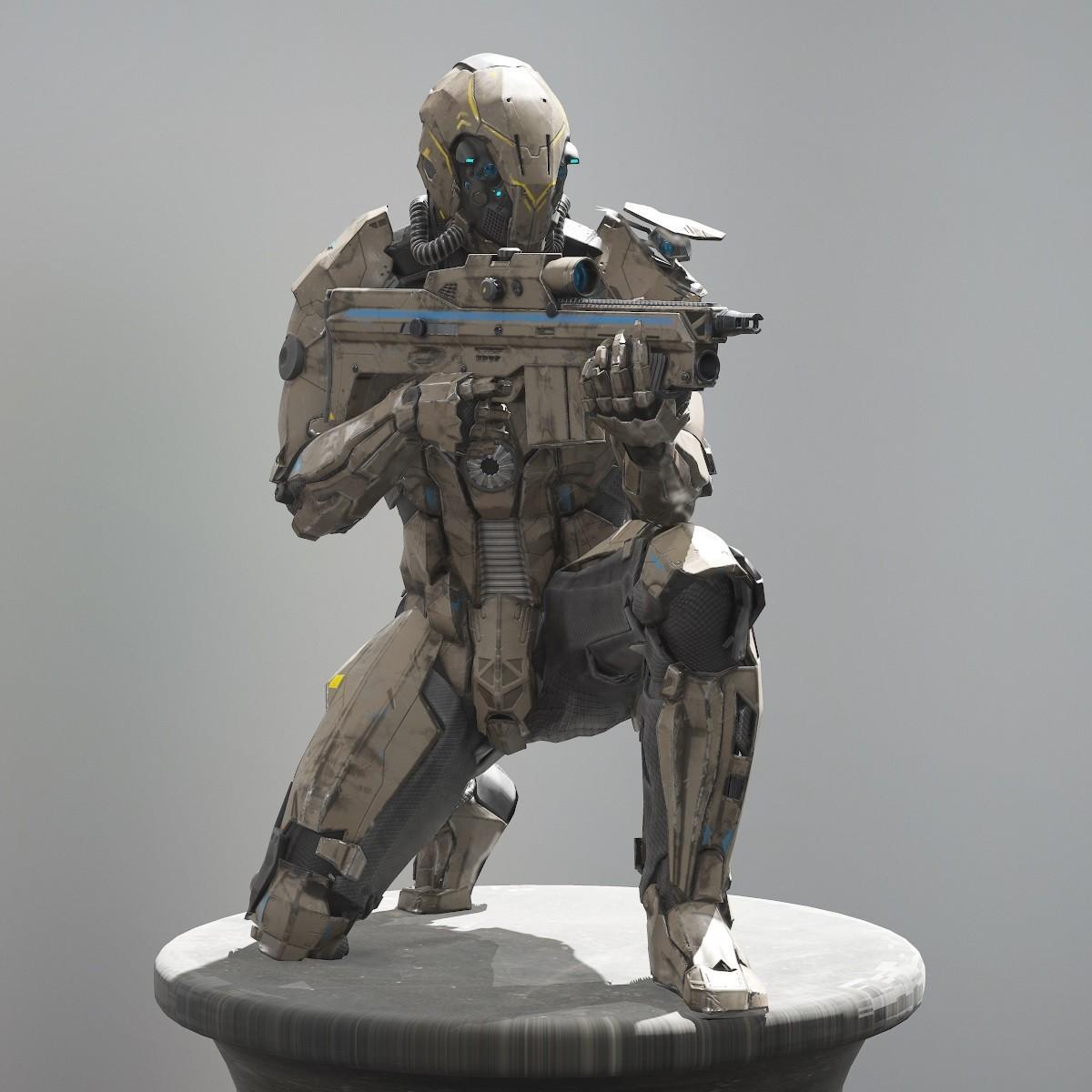 Michael weisheim beresin scifi soldier 3