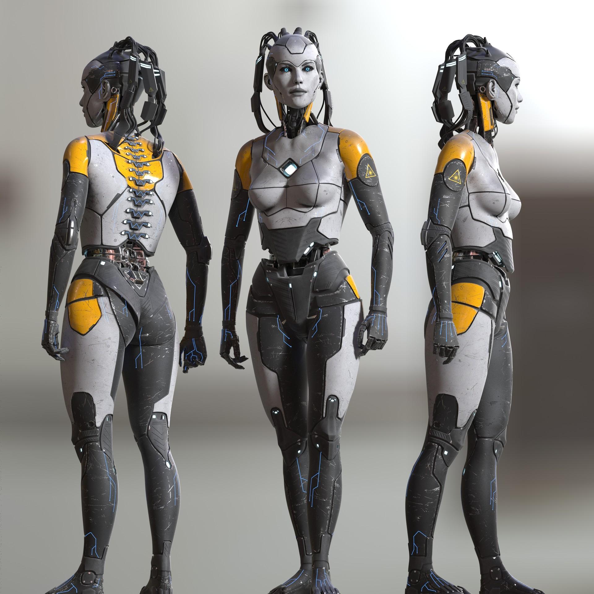 Michael weisheim beresin robot woman 111