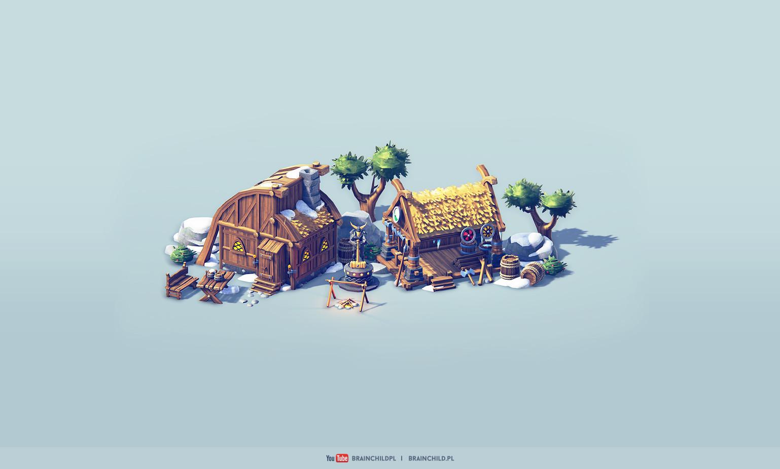 Rafal urbanski viking artstation 2