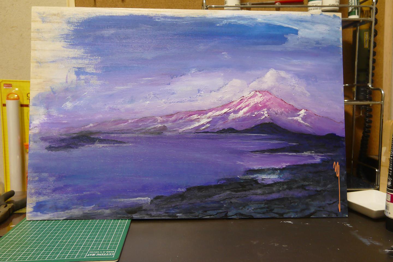 Snow Mountain & Sea