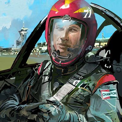 Ignacio bazan lazcano pilot portrait