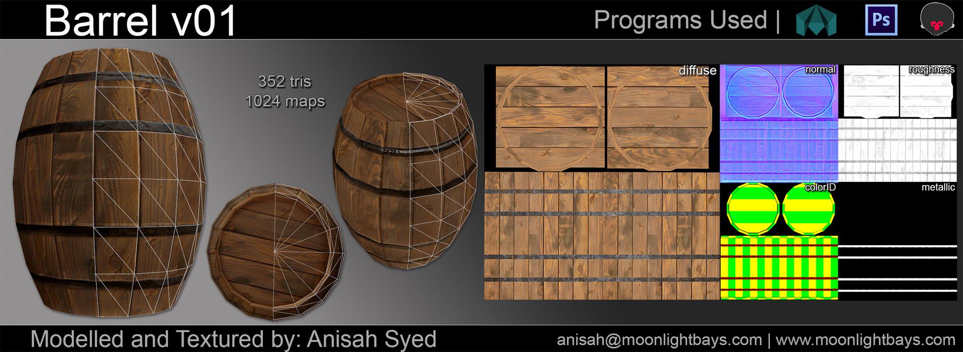 Anisah syed barrelpresentation
