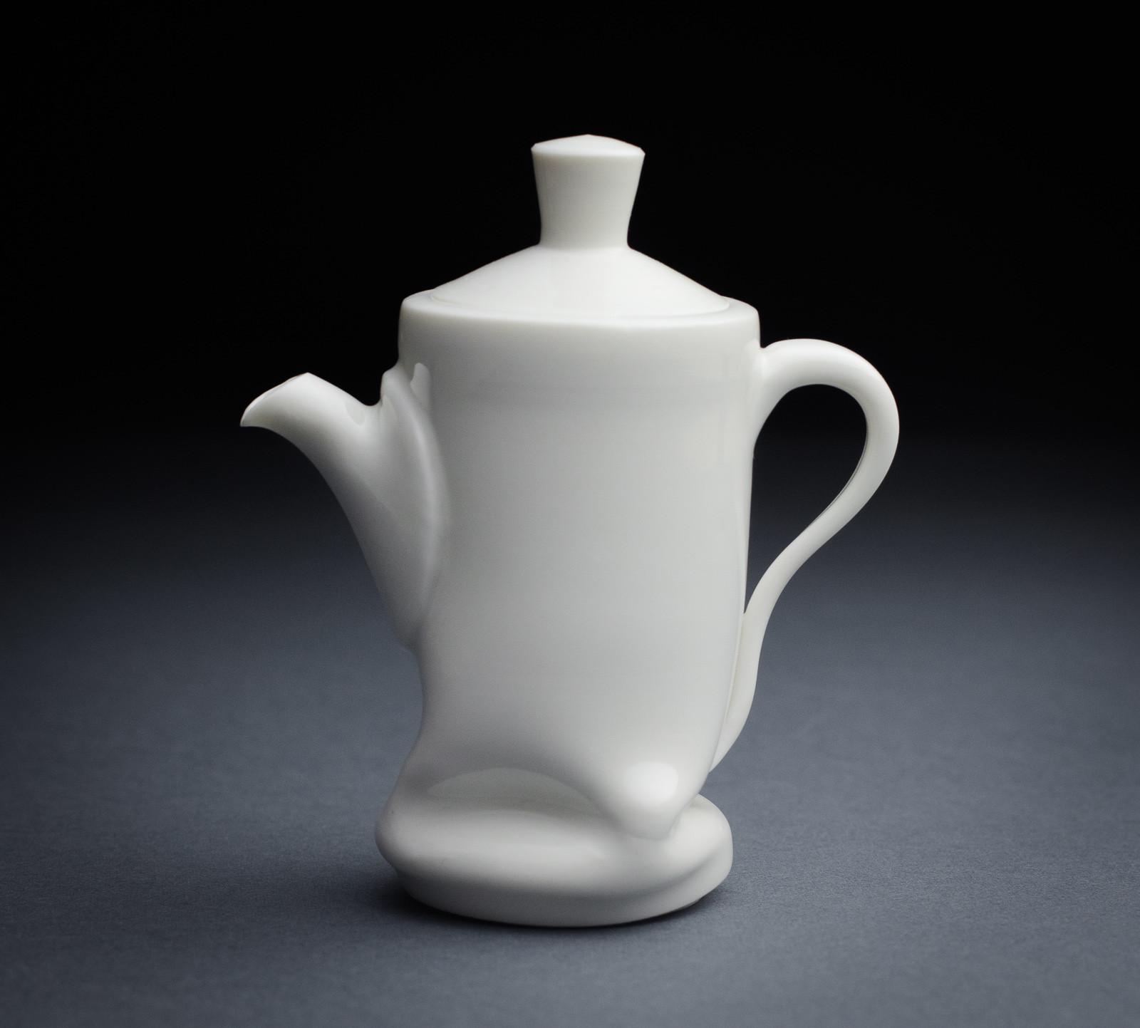 Porcelain teapot 003
