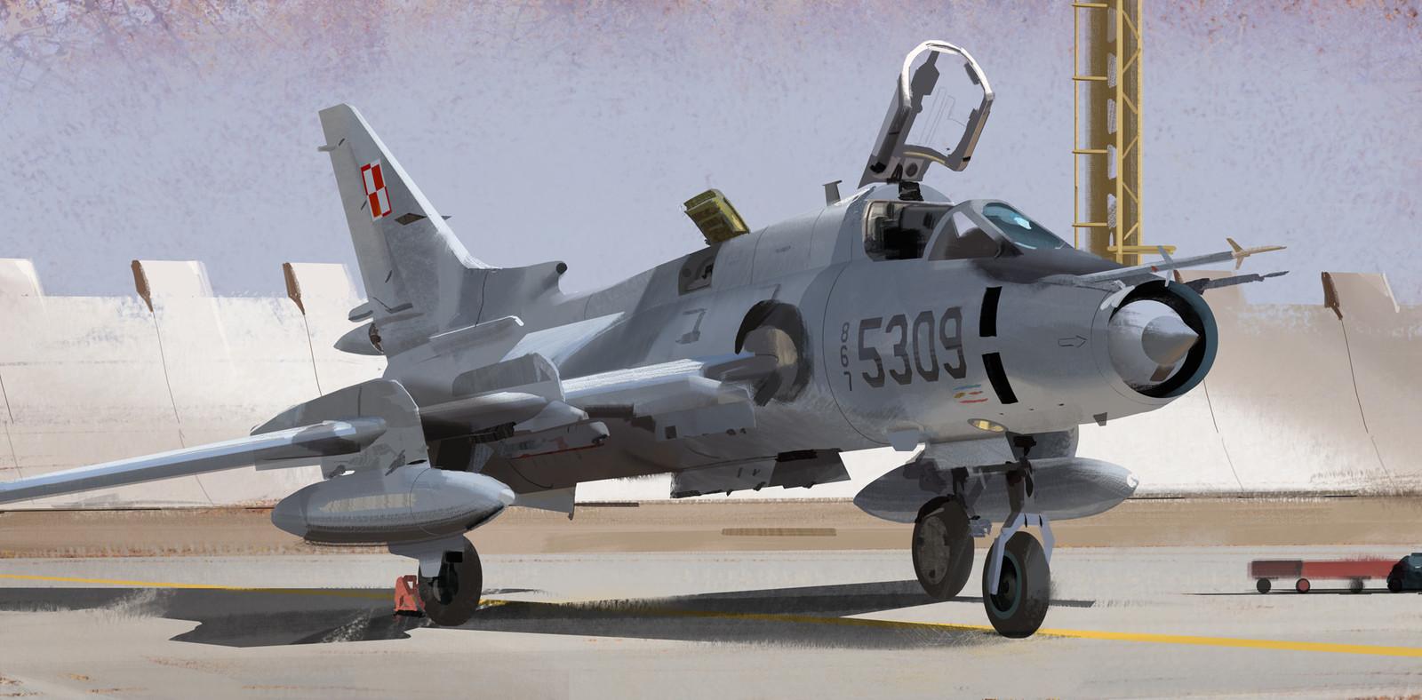 SU-22 Runway Study