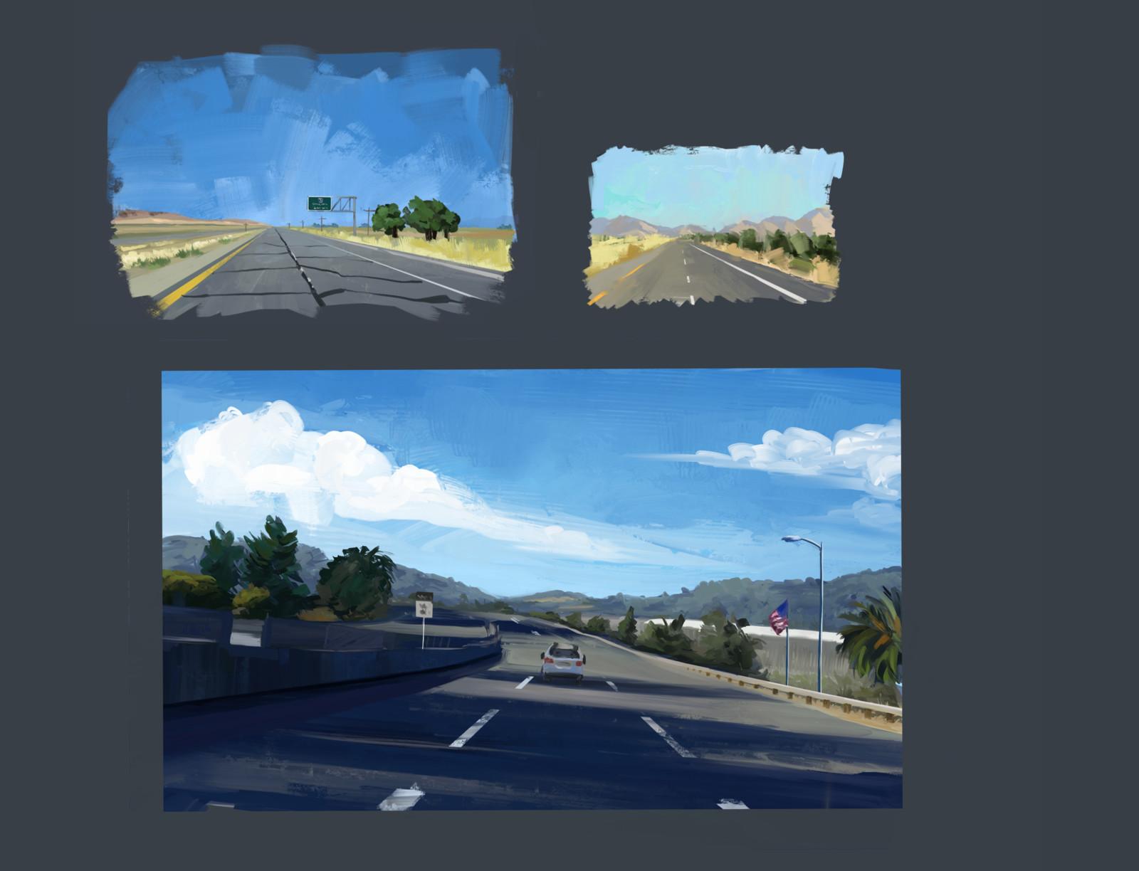 California freeway studies