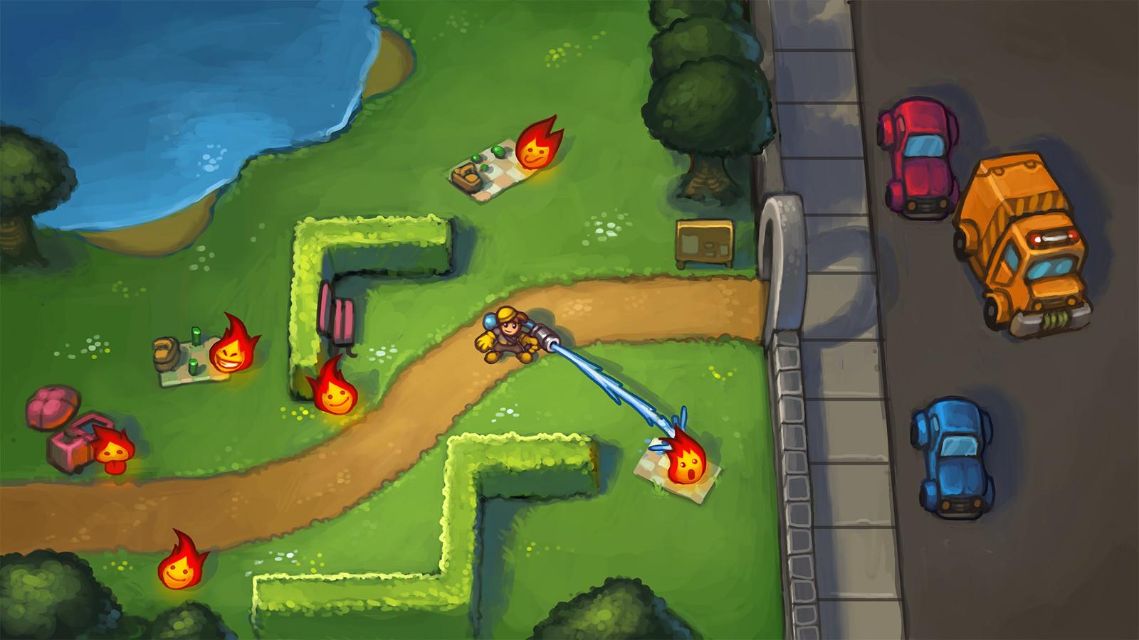Disaster-Fighting Game