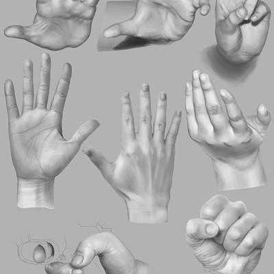 Matt fraser hand study