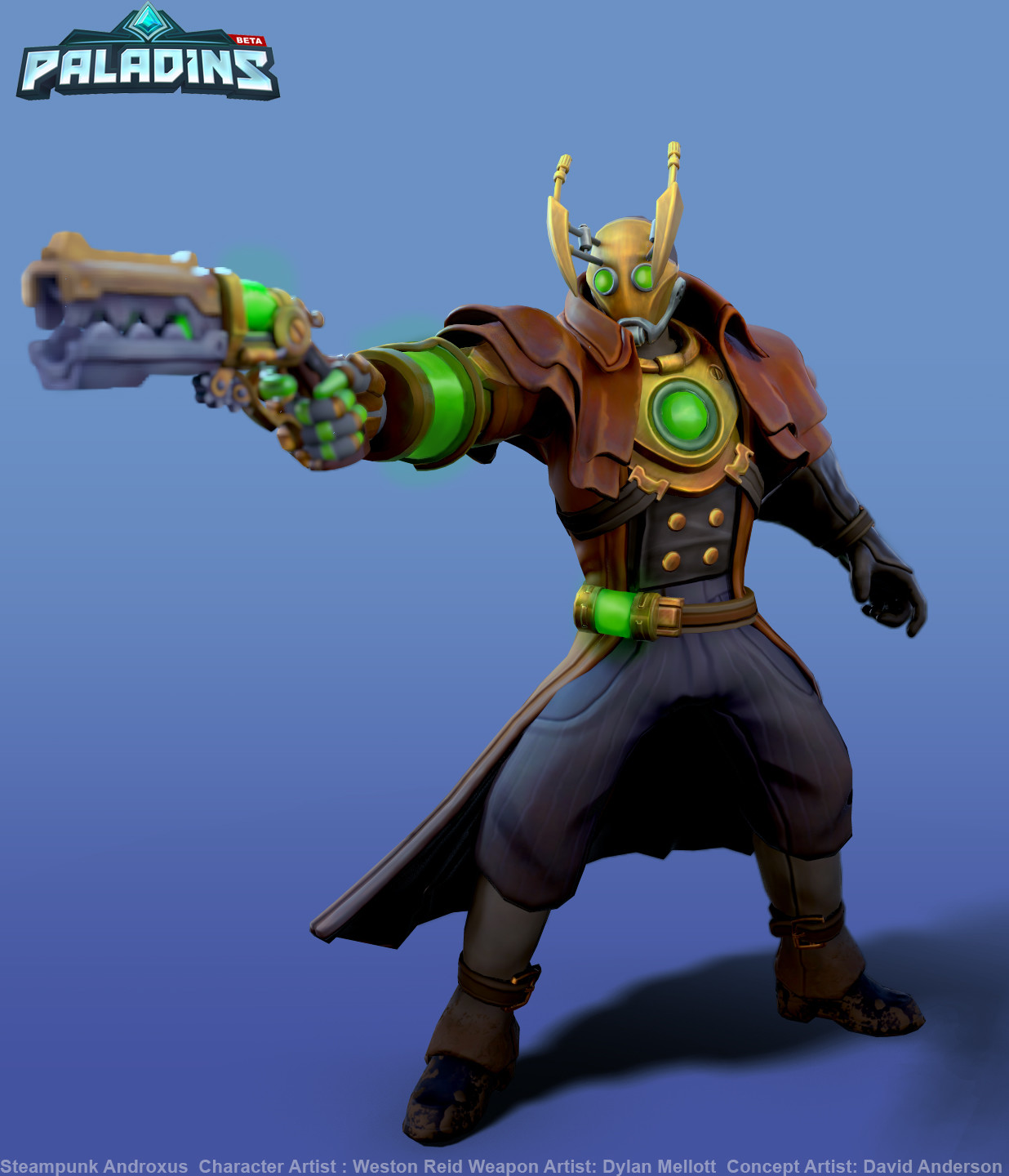 Weston reid steampunk androxus pose01