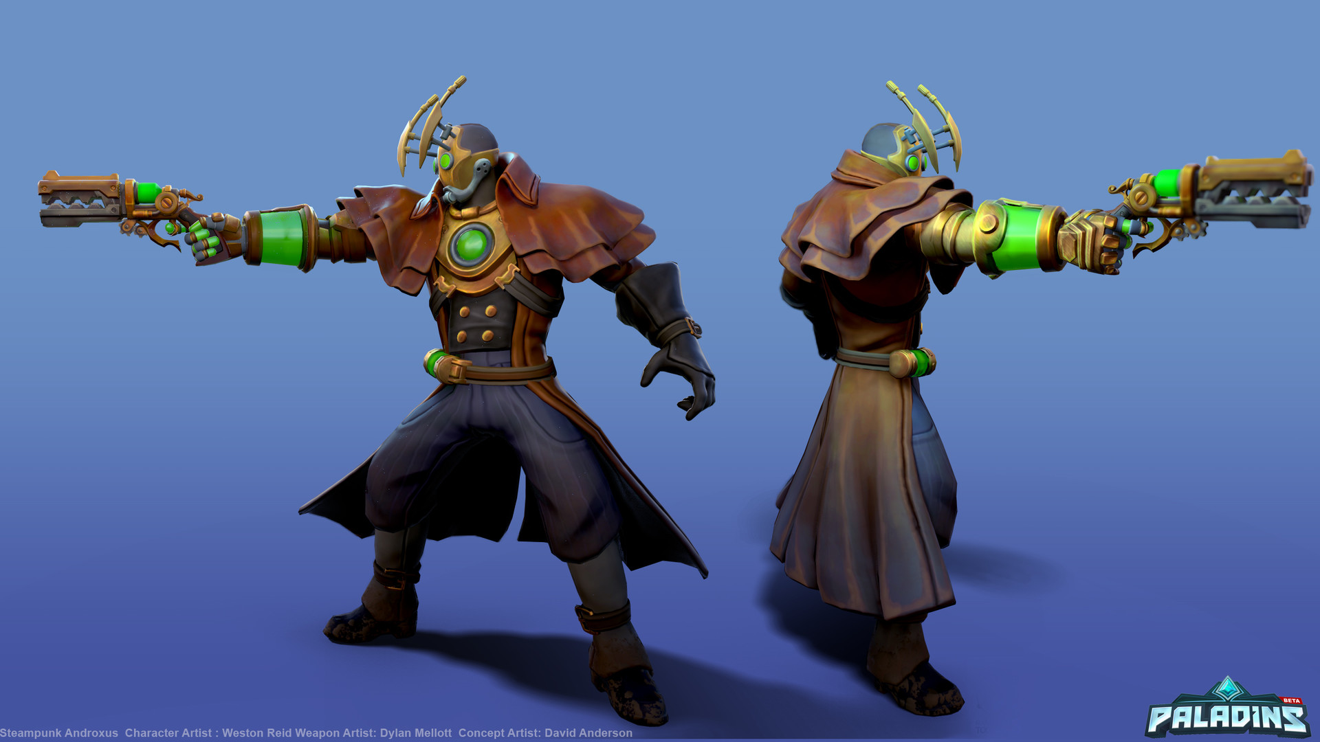 Weston reid steampunk androxus pose01a