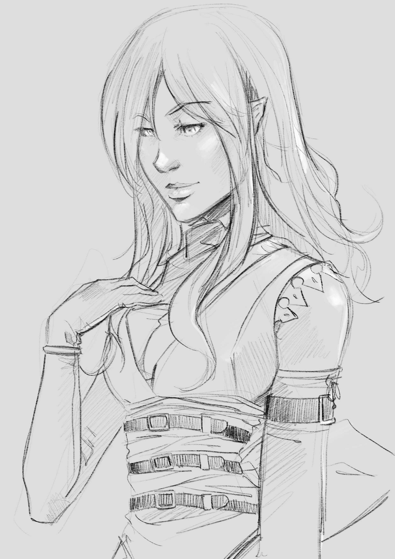 Eliel sketch