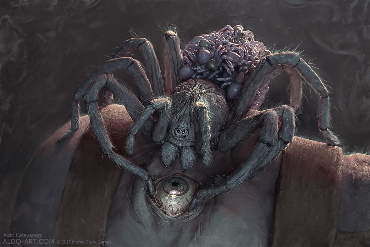 Aldo Katayanagi Mcg Invisible Sun Harvesting Spider
