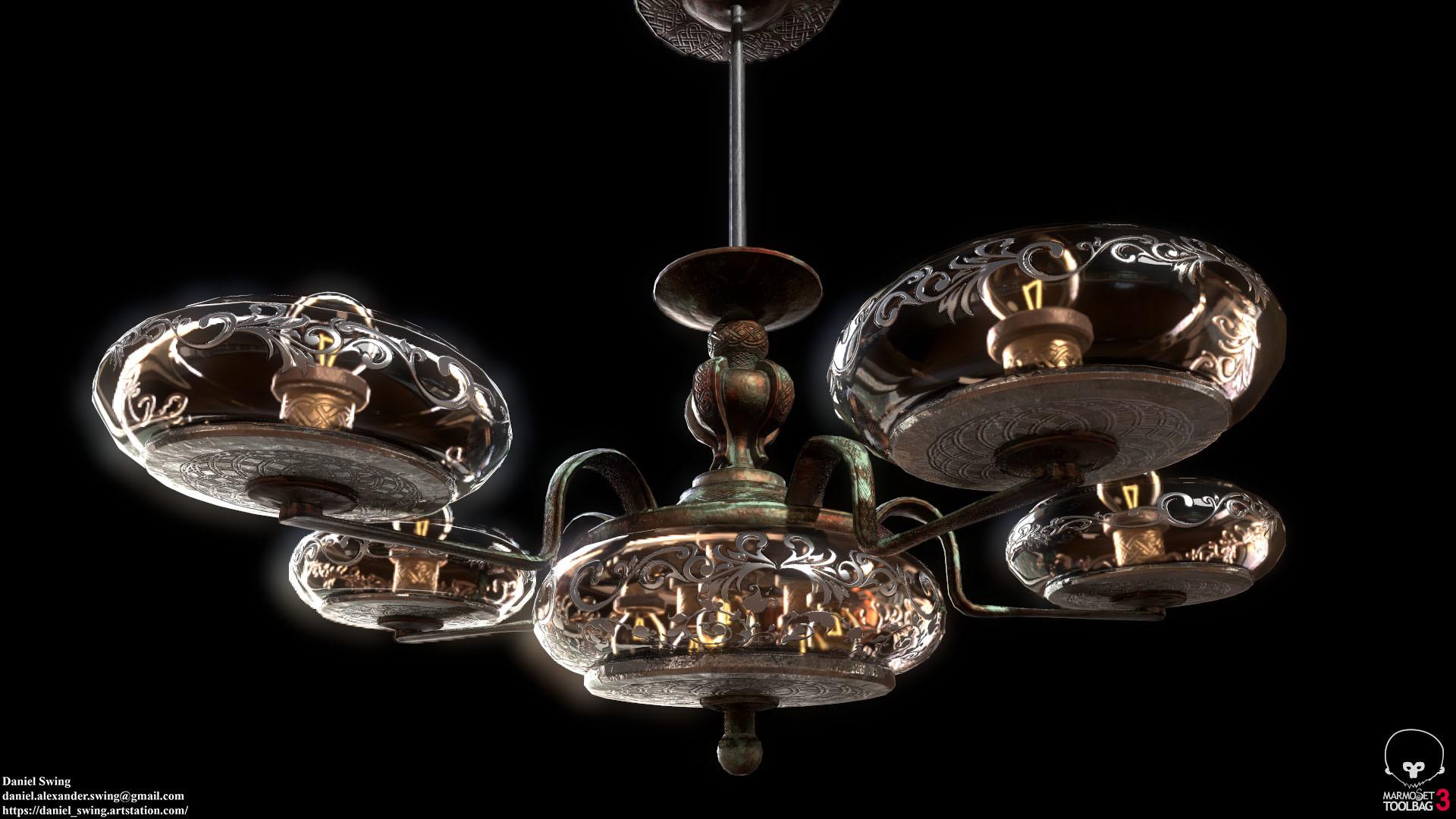 Daniel swing lamp 6