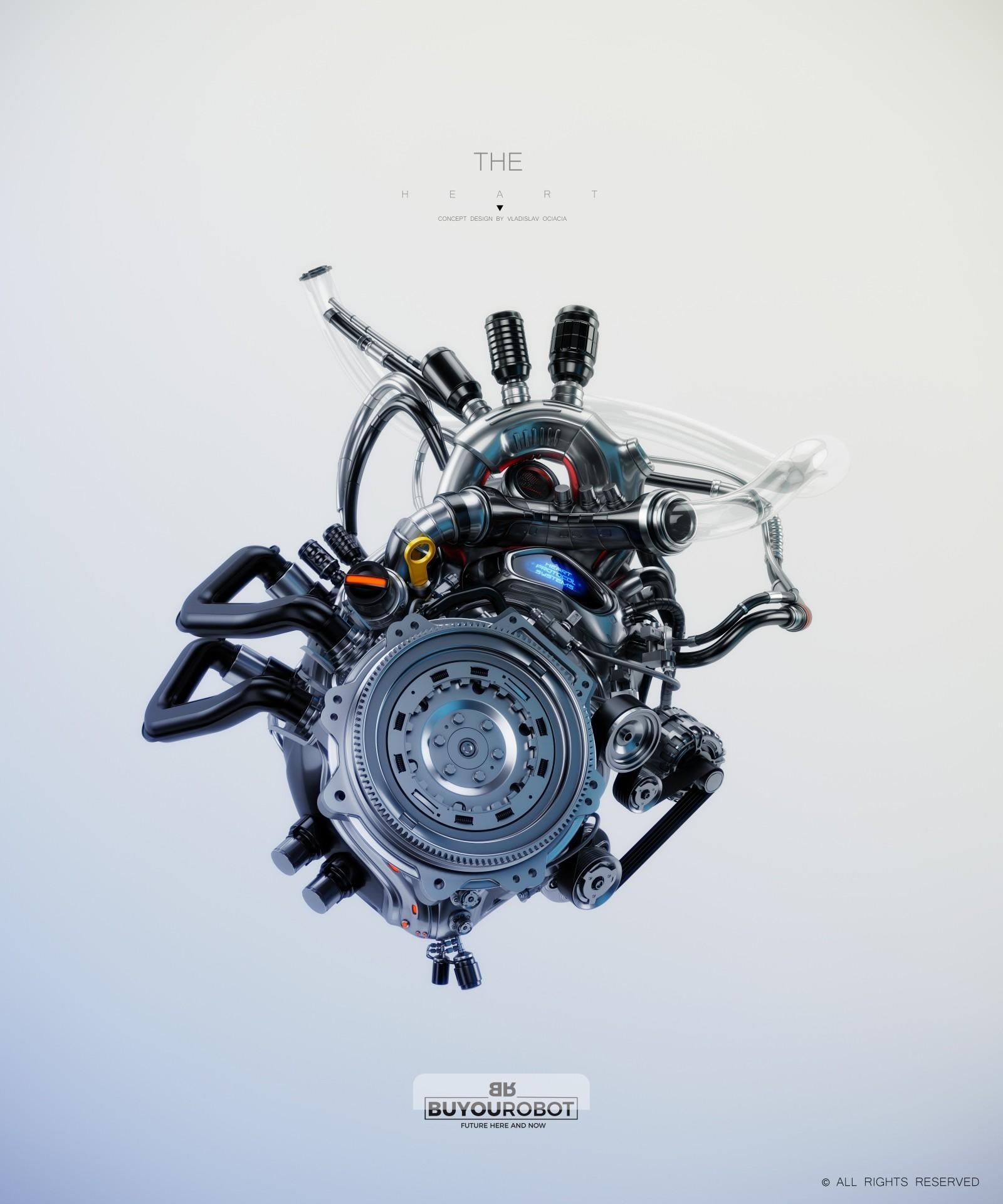 Vladislav ociacia heart robot 3