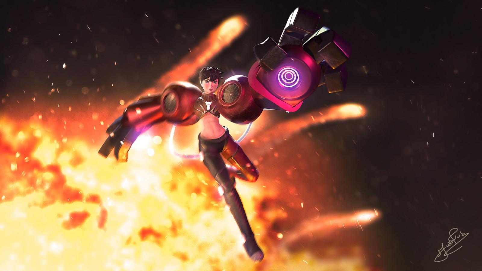 Kate - A brilliant engineer   Black Scythe universe