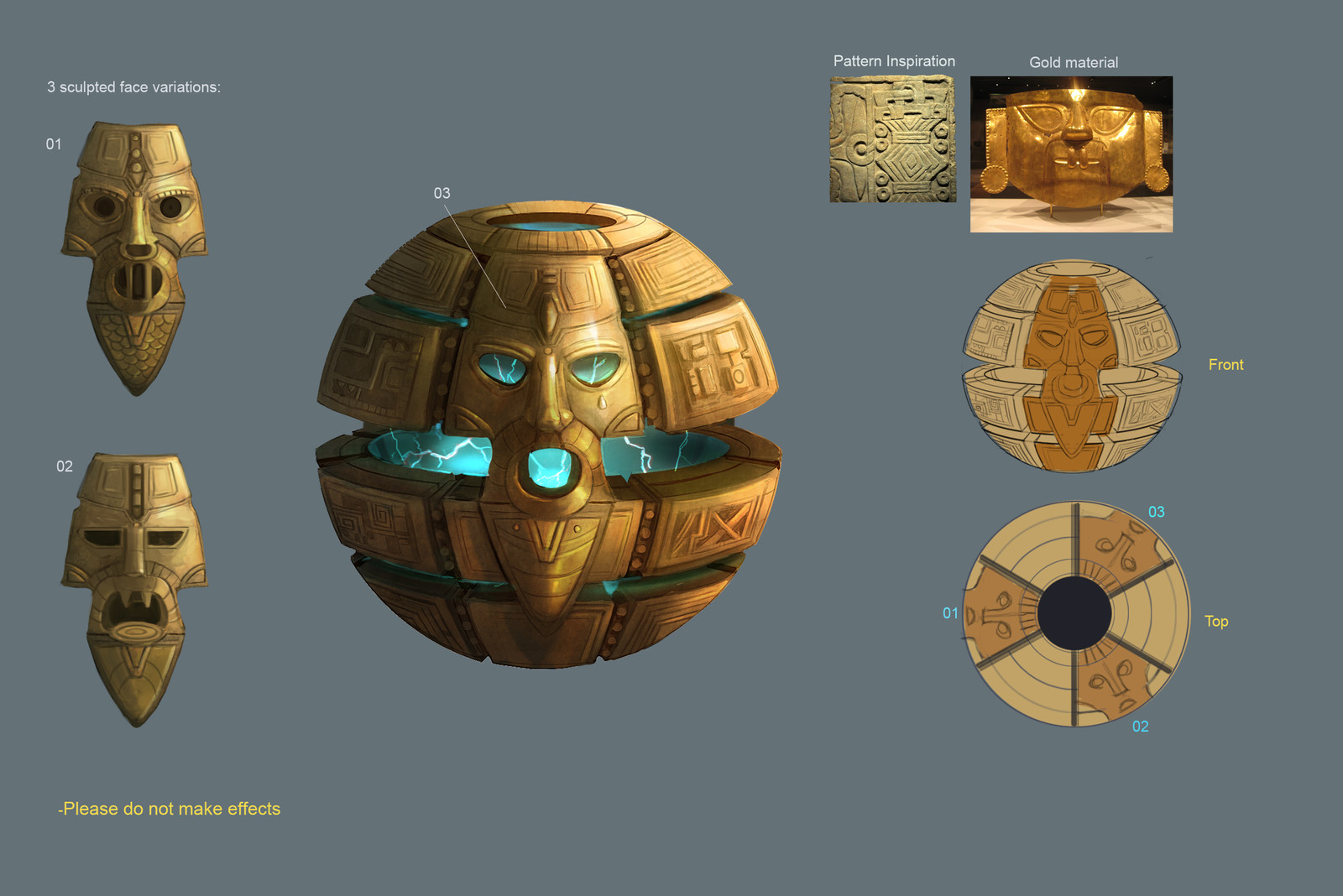 First version of the Relic Ball