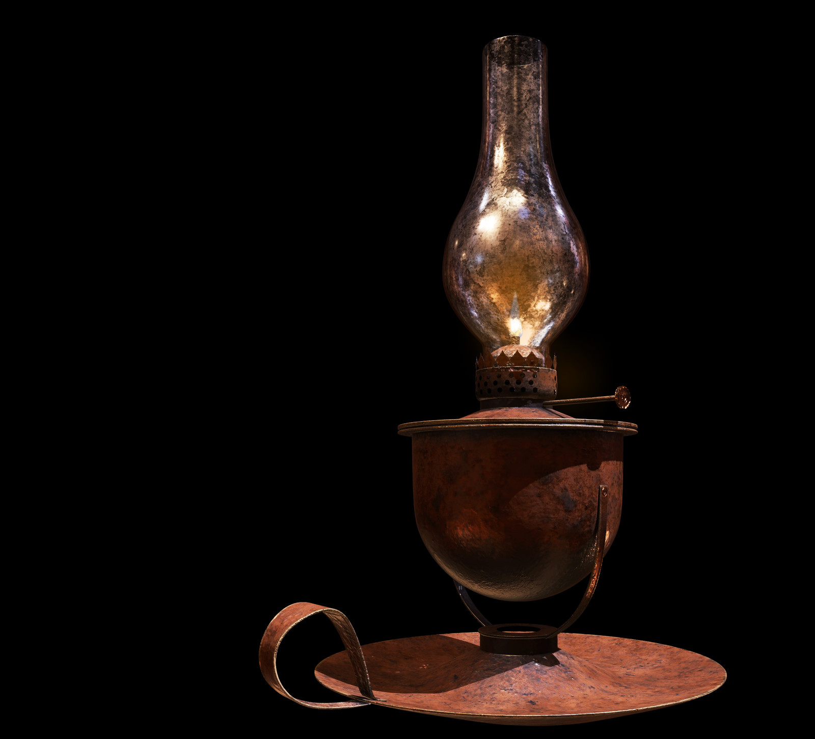 Oil Lamp asset