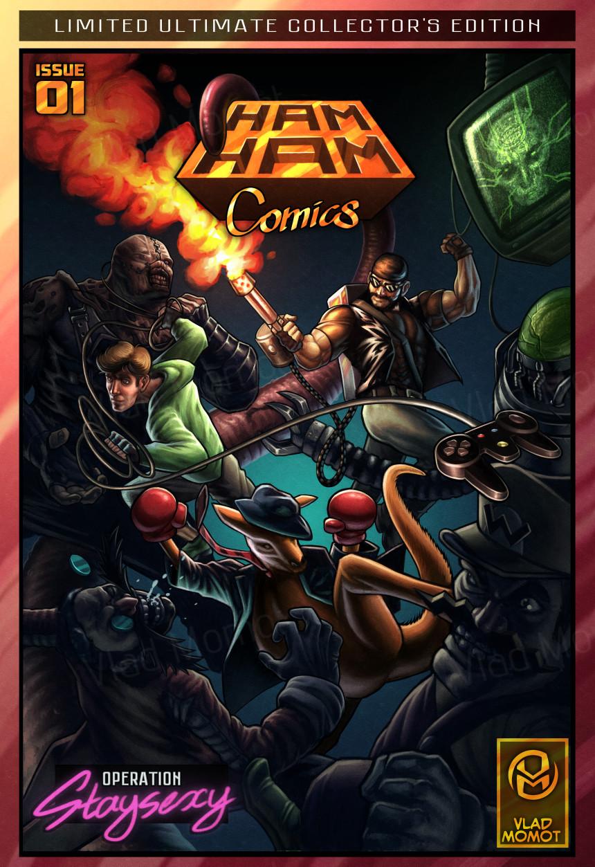 H.A.M. Comics