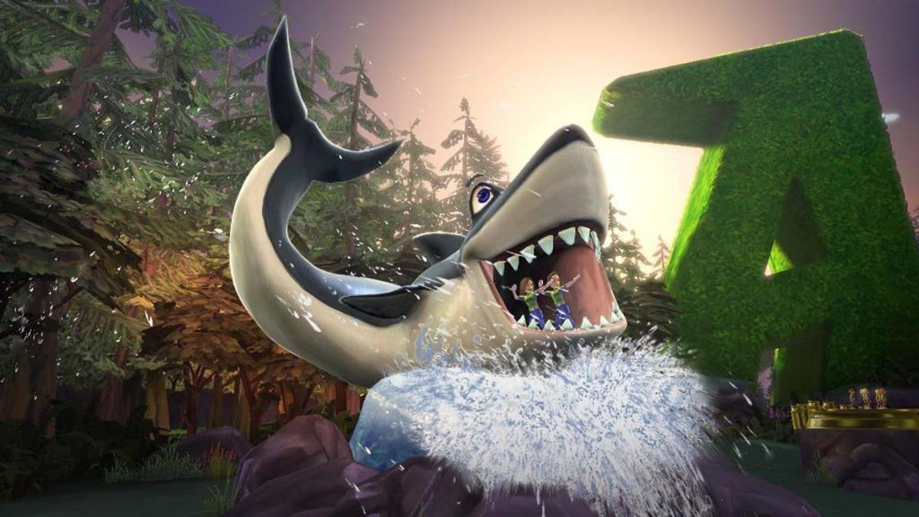 Textured Shark trophy in Kinect Adventures for Microsoft Game Studios