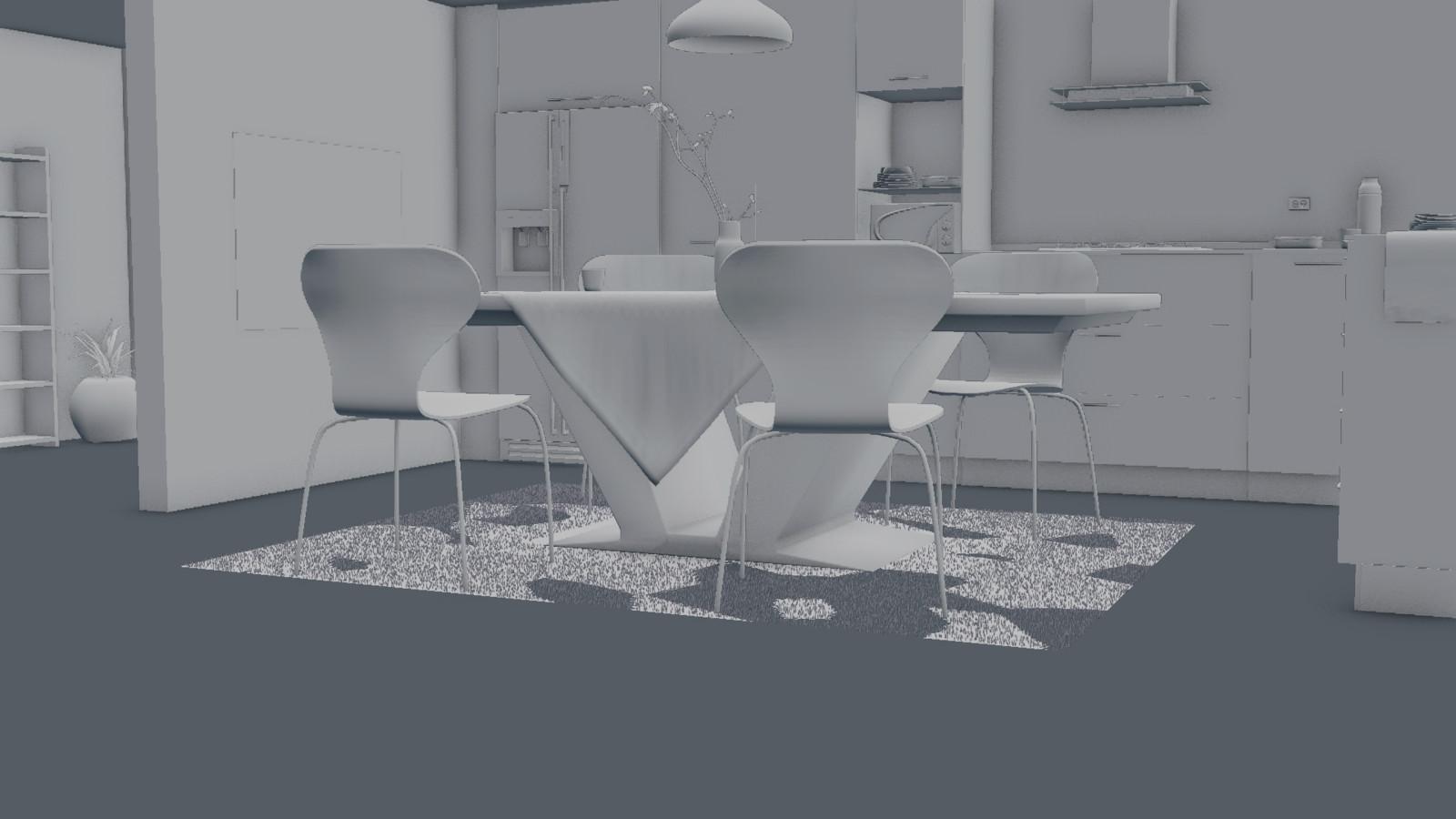 OpenGL Clay Render