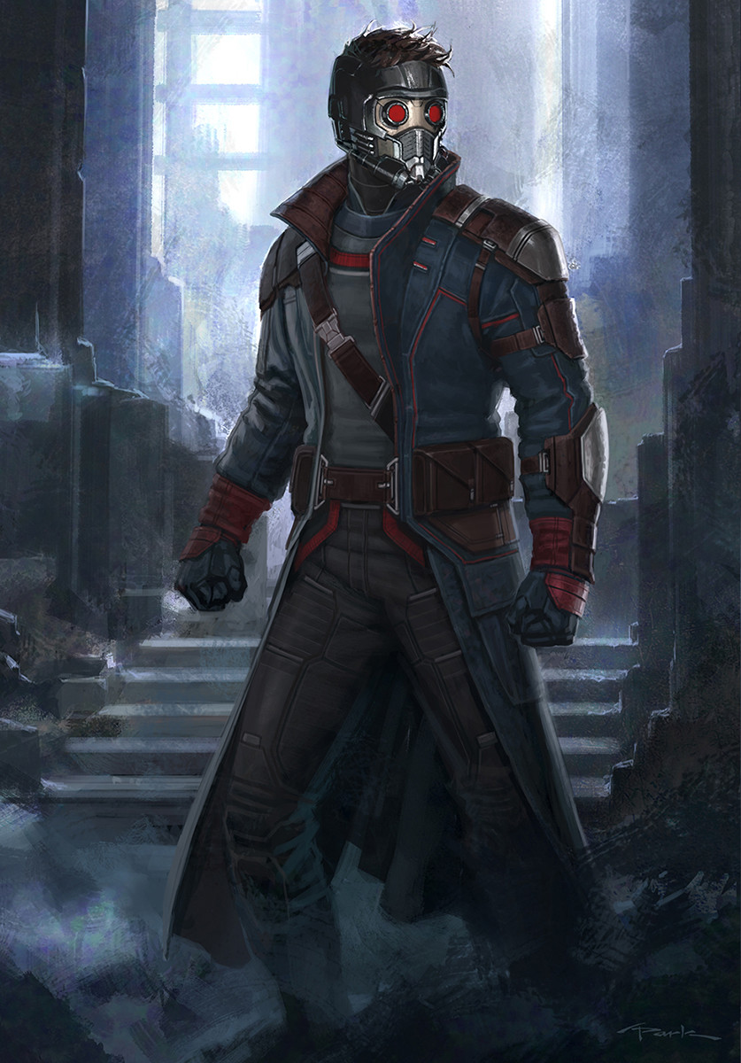 0d9fe7519 ArtStation - StarLord- Guardians of the Galaxy Vol. 2, Andy Park