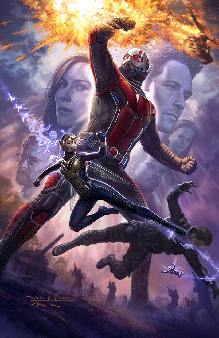 Artstation Ant Man And The Wasp Poster Andy Park