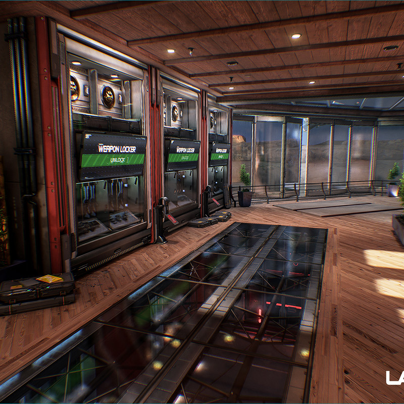 Lawbreakers - Grandview: Interiors