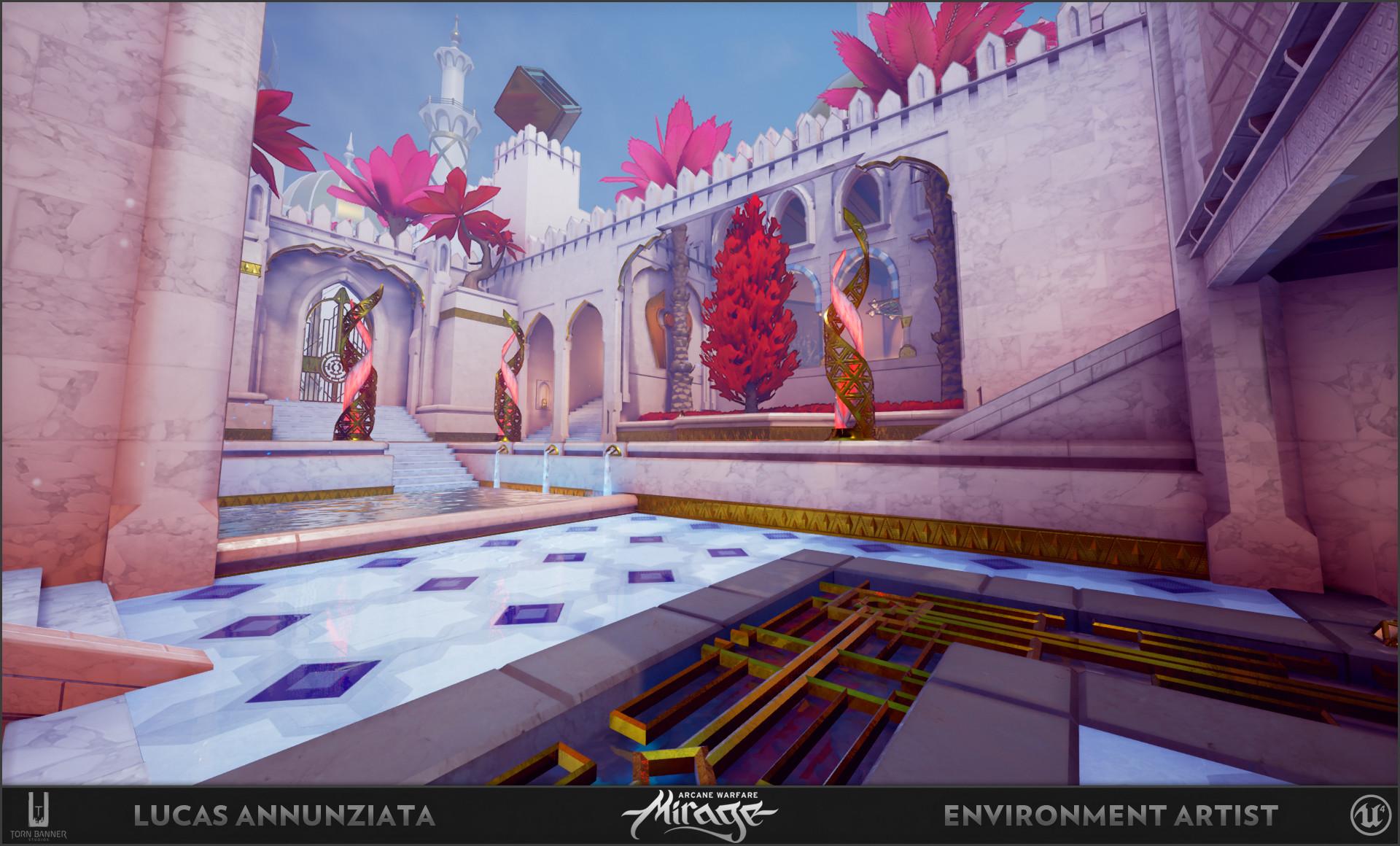 Lucas annunziata courtyard 5