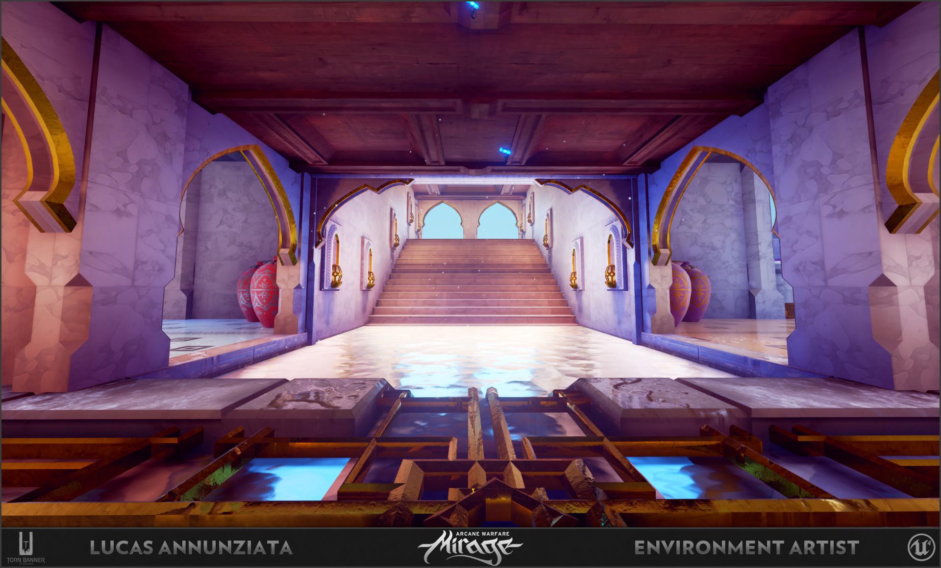 Lucas annunziata courtyard 2