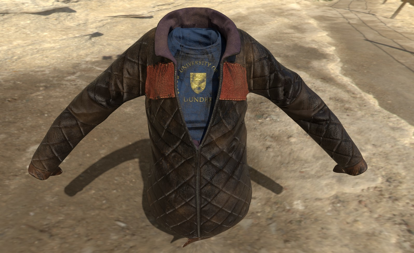 One of the iterations of leather jacket