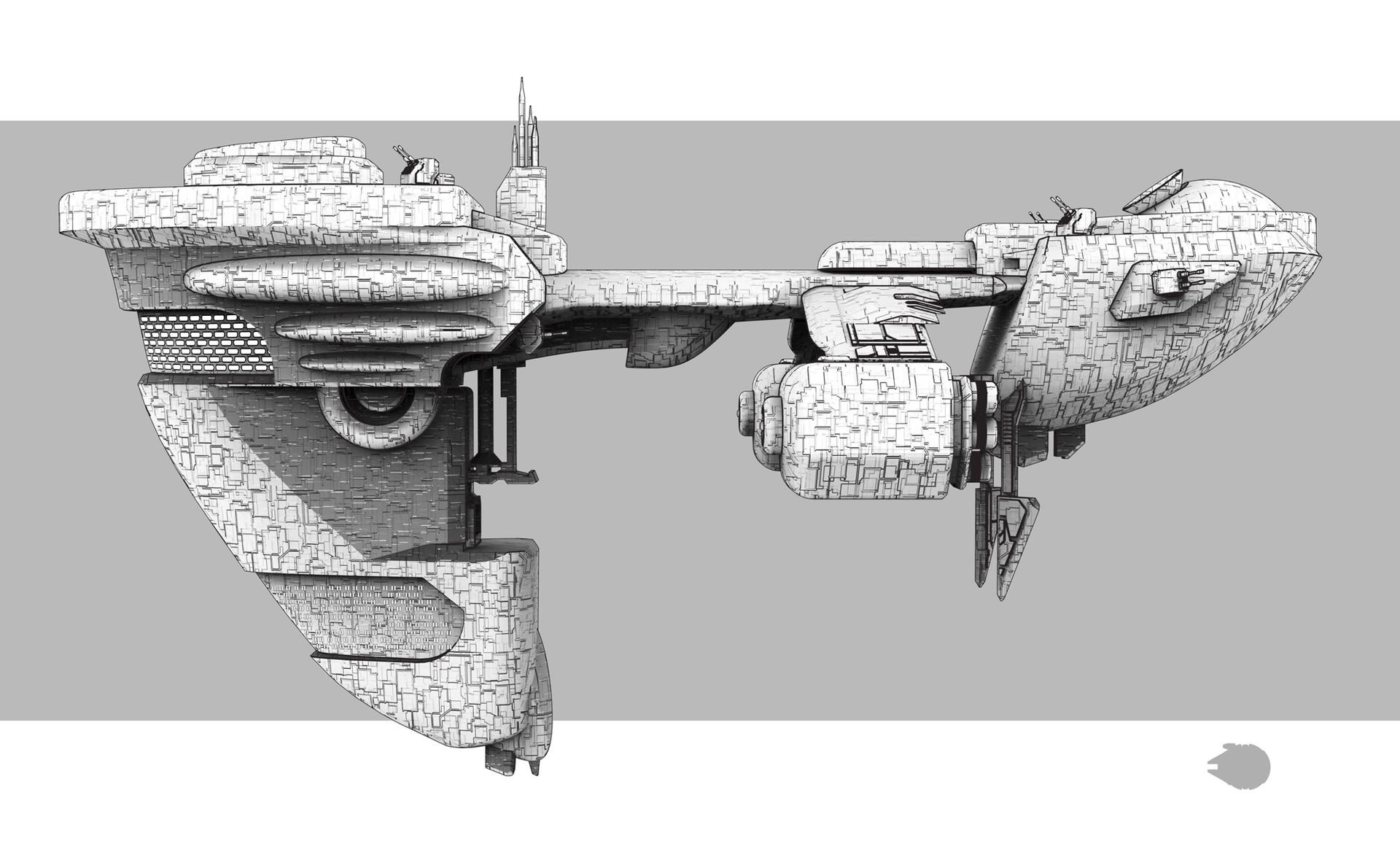 Alejandro gonzalez star wars concept art ef97 a