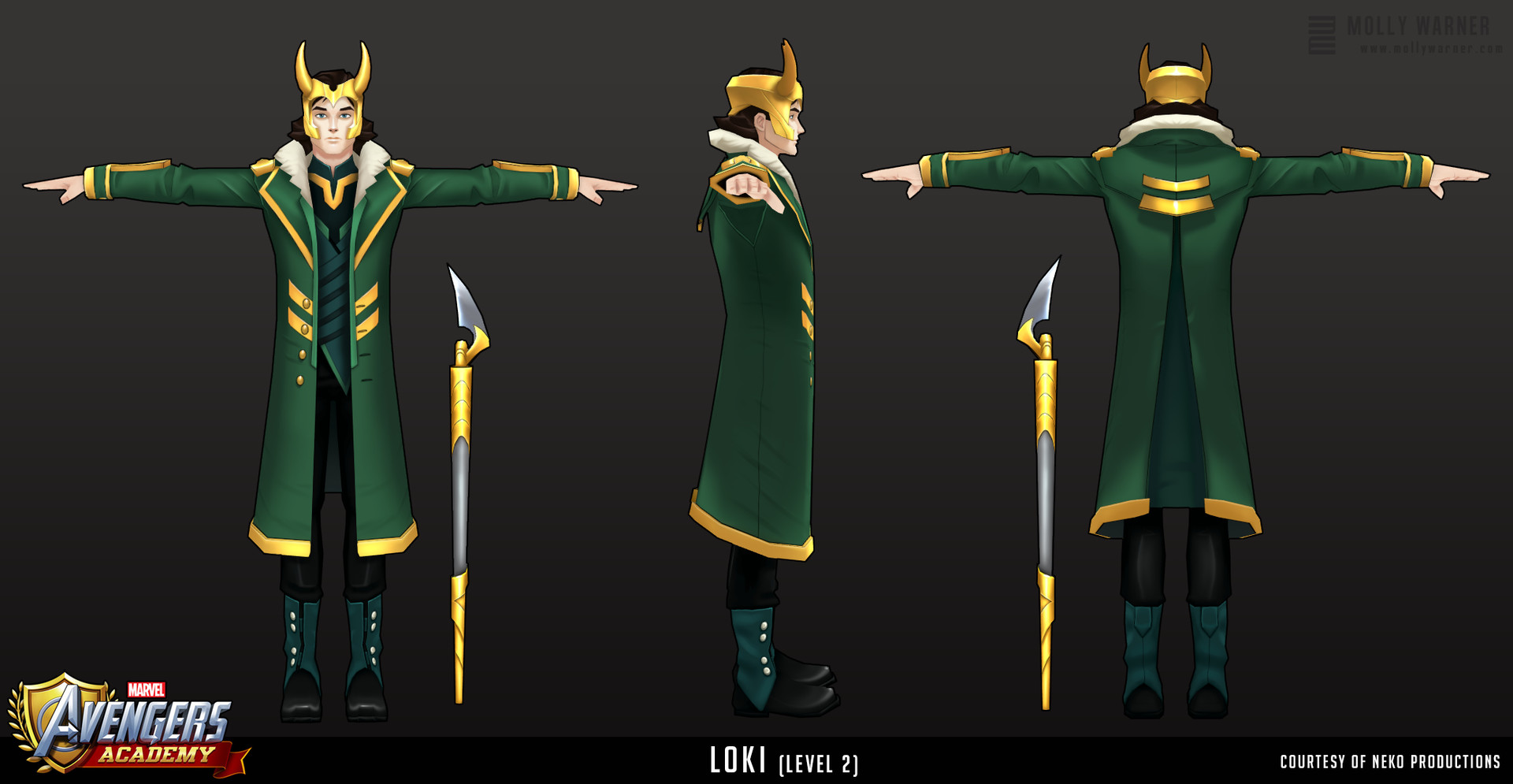 Molly warner 2 avengers academy loki l2