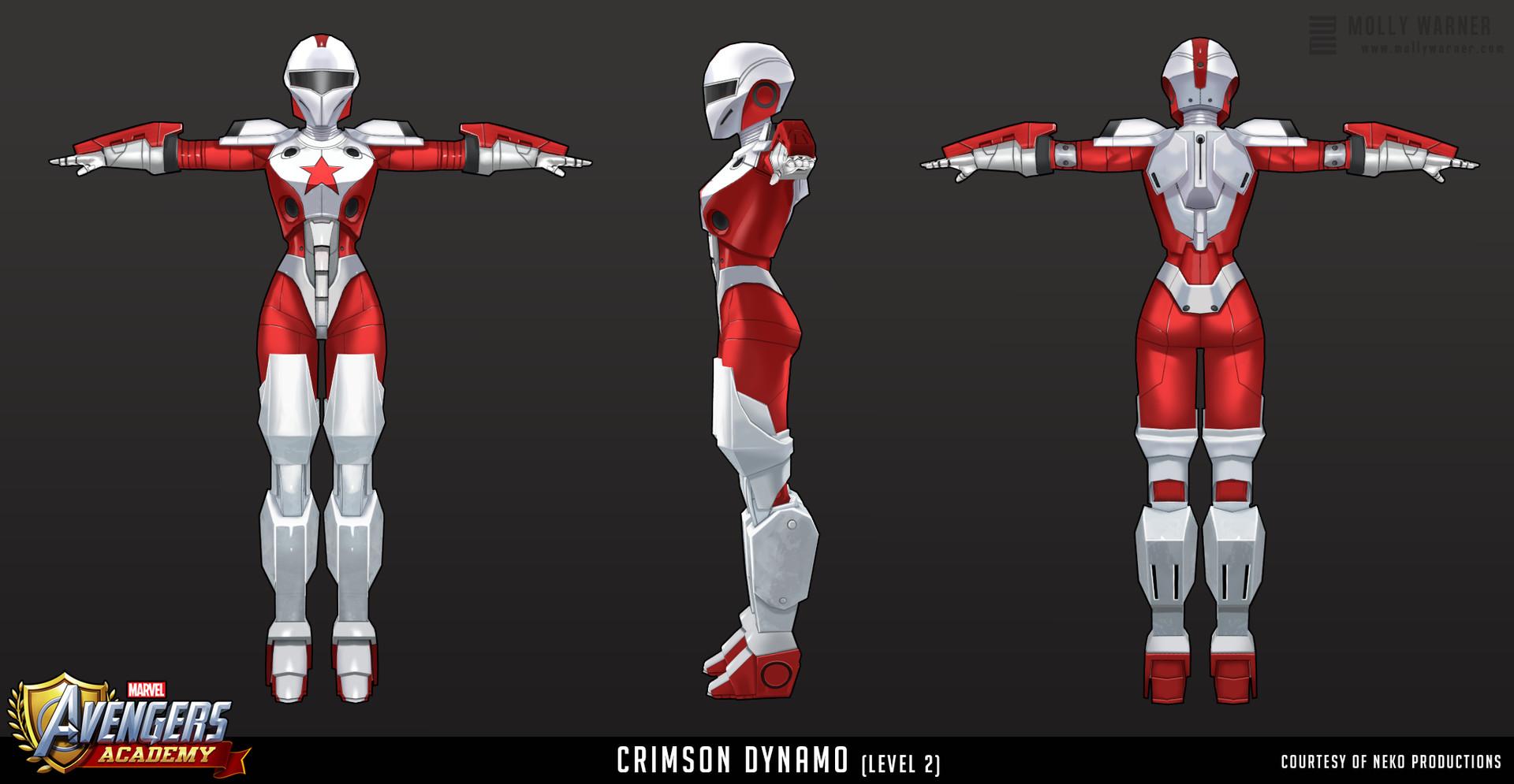 Molly warner 5 avengers academy crimson dynamo l2