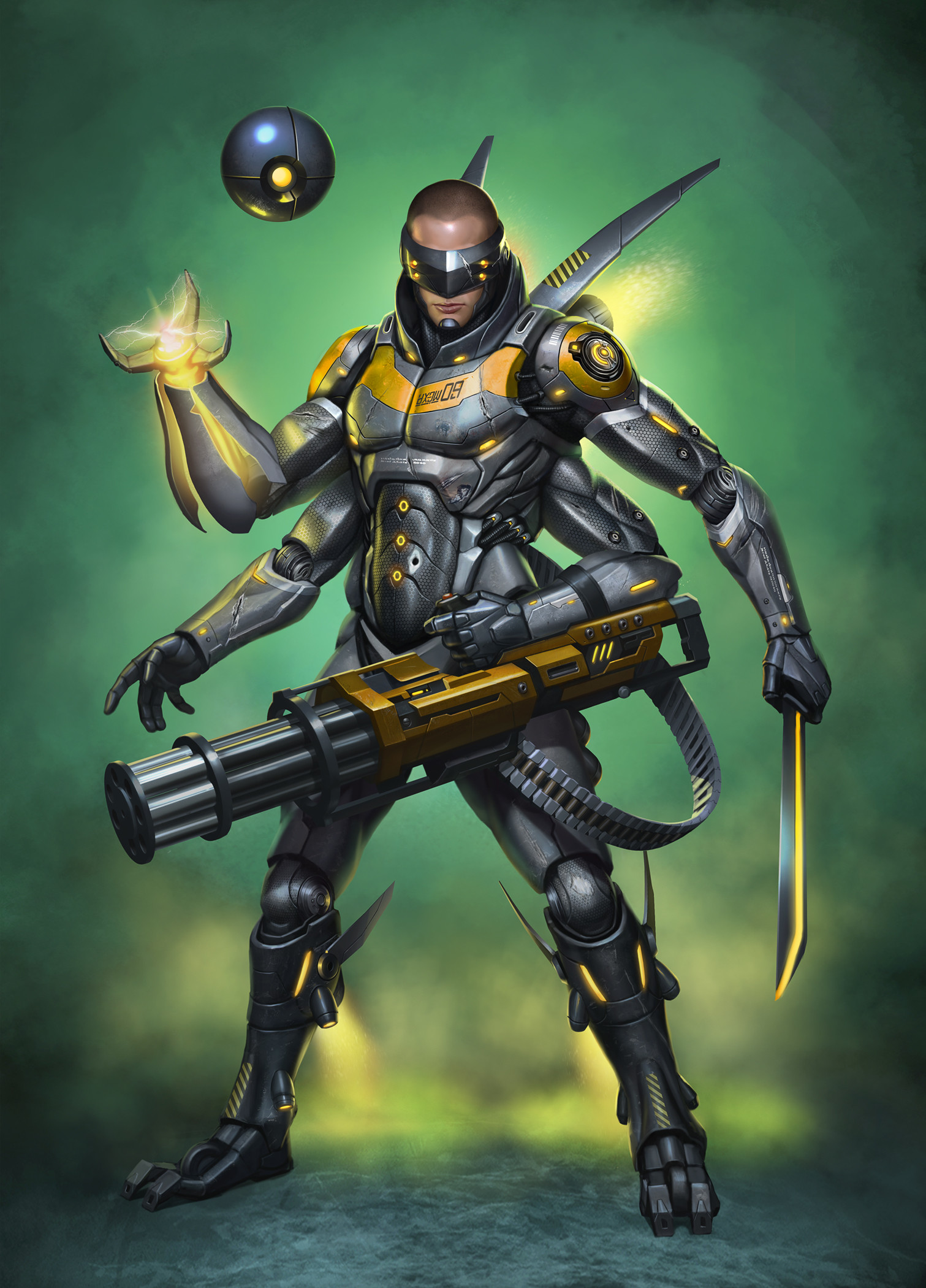 Dmitriy semenov cyborg