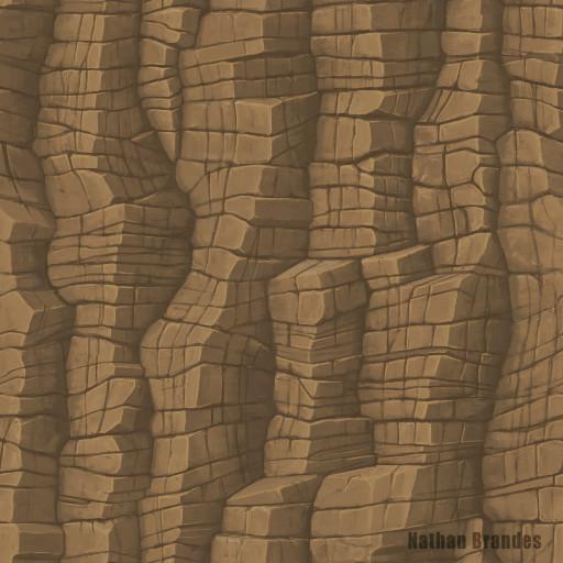 Vertical Cliff Rock