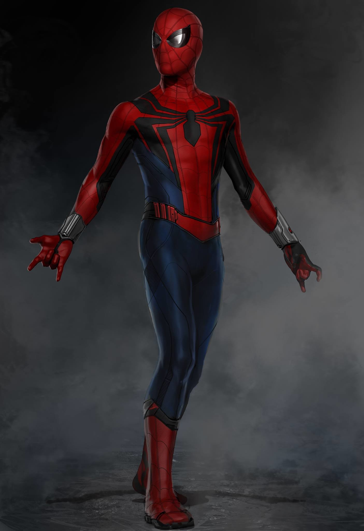 Ryan Meinerding - Design Passes for Spider-Man: Homecoming ...