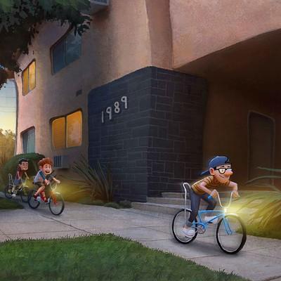 Francis boncales riding bikes 8