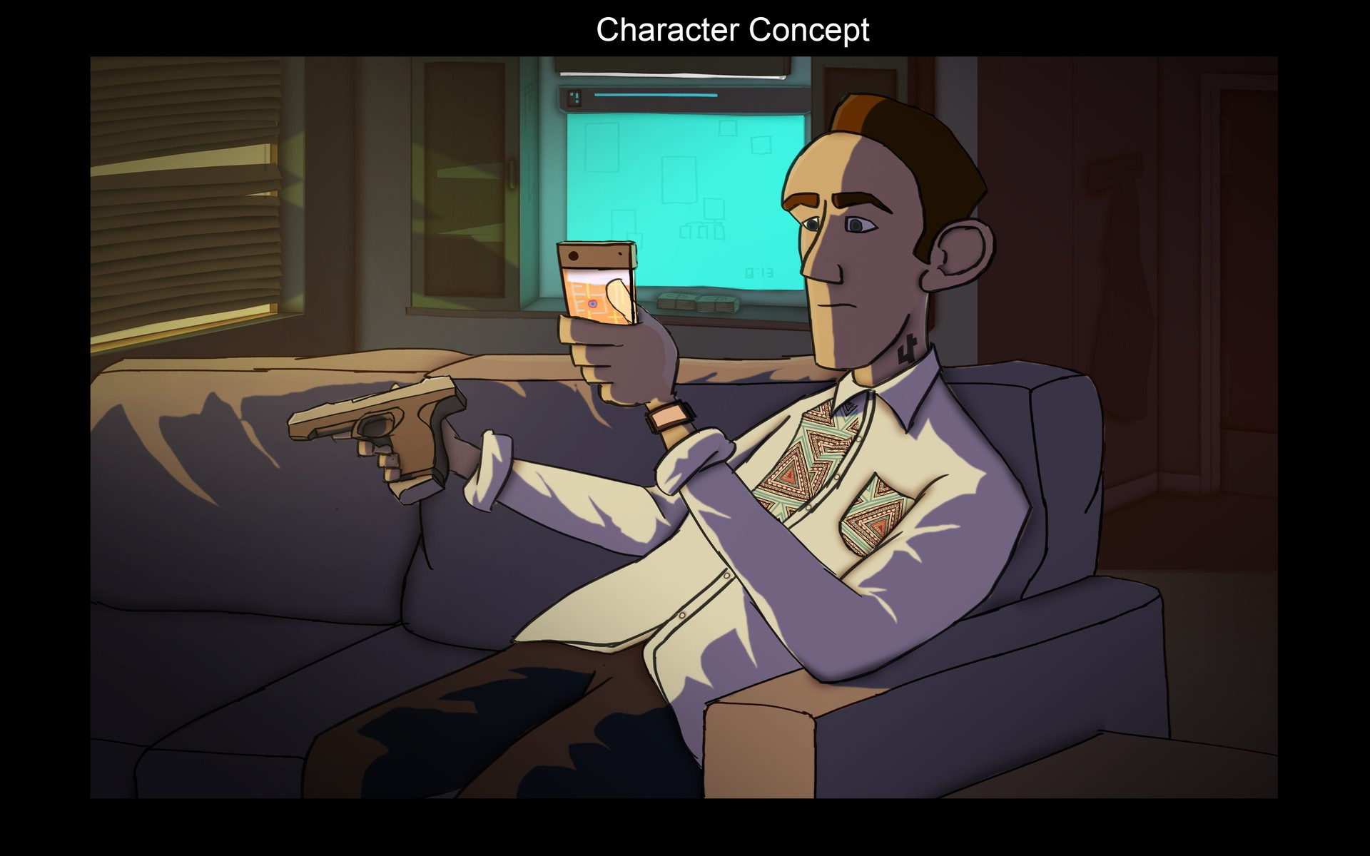 James ray characterconcept
