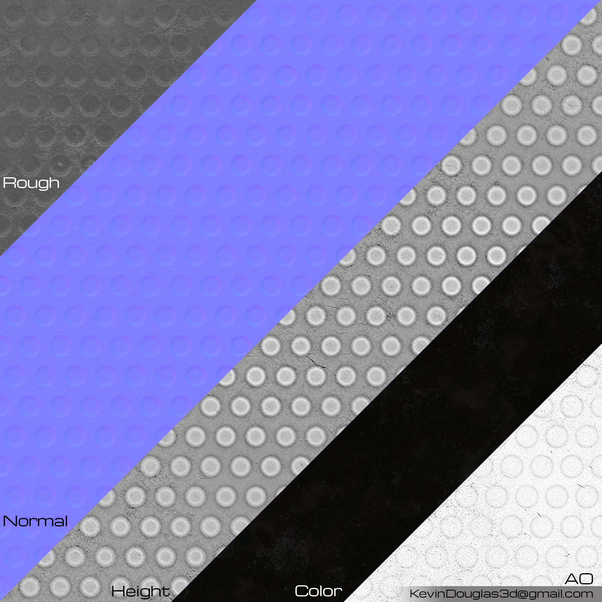 Rubber 4 Texture Maps