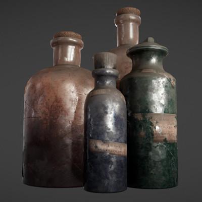 Jose miguel sierra botellasrender