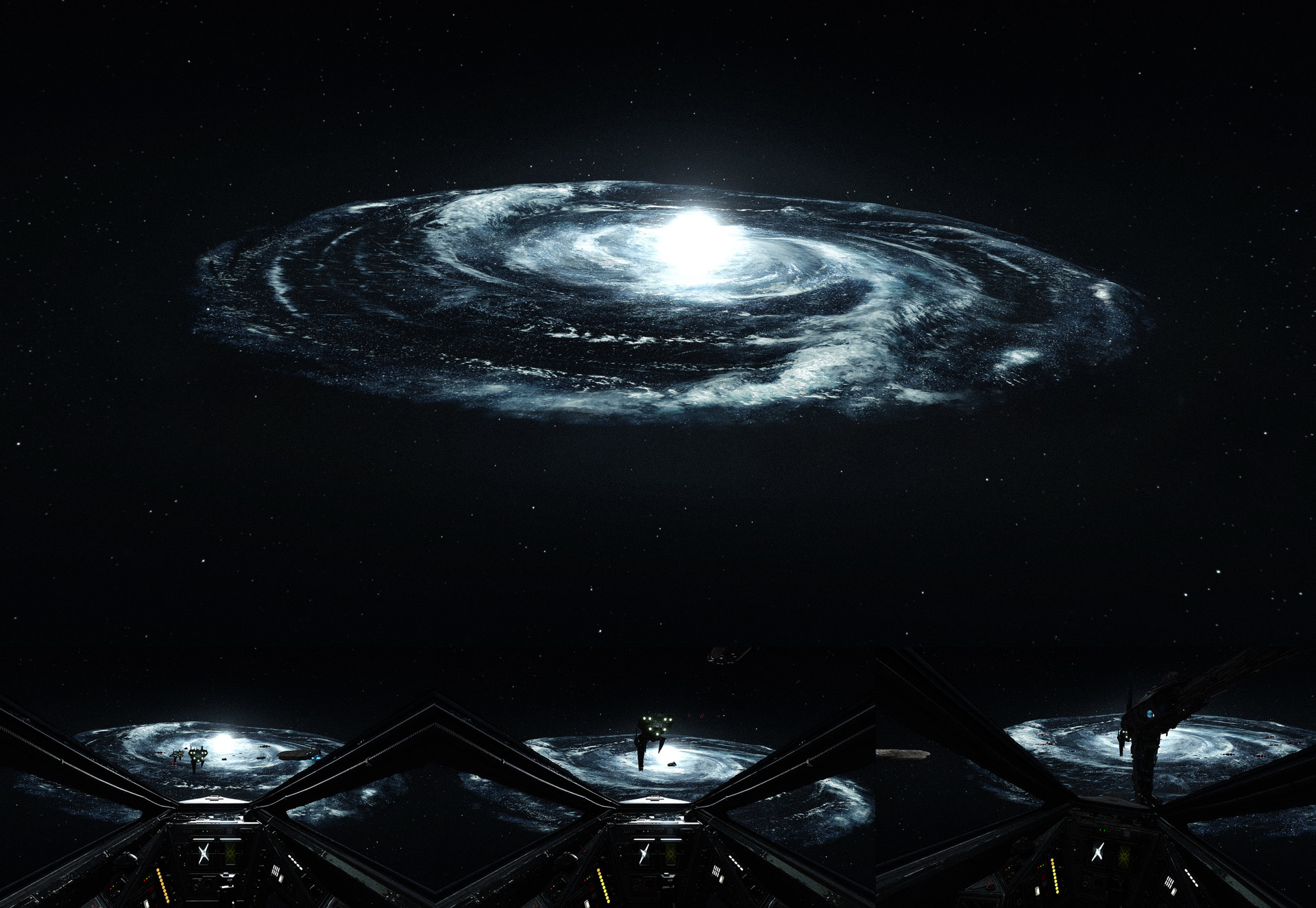 Darius kalinauskas starwars galaxy background dice
