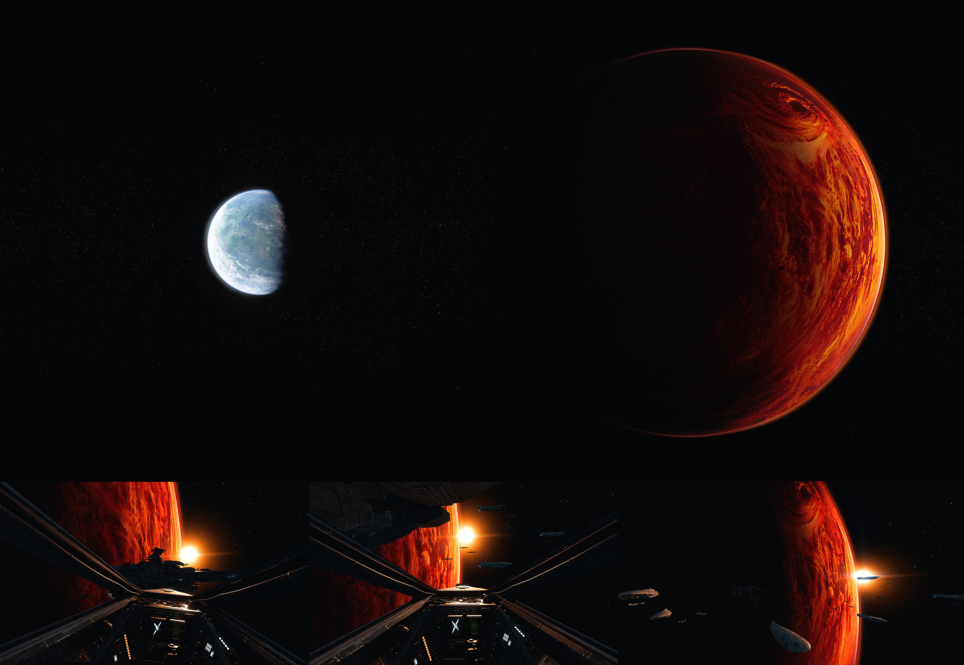 Darius kalinauskas starwars yavin background dice