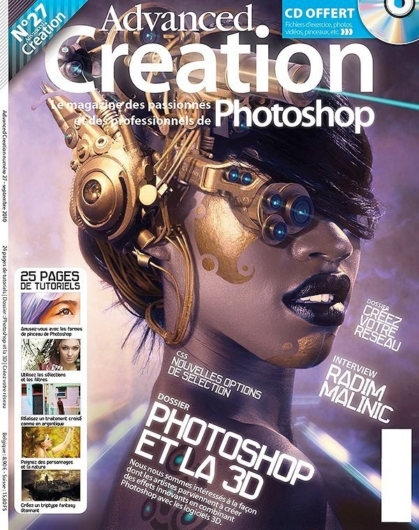 Advanced Creation cover Art Feature