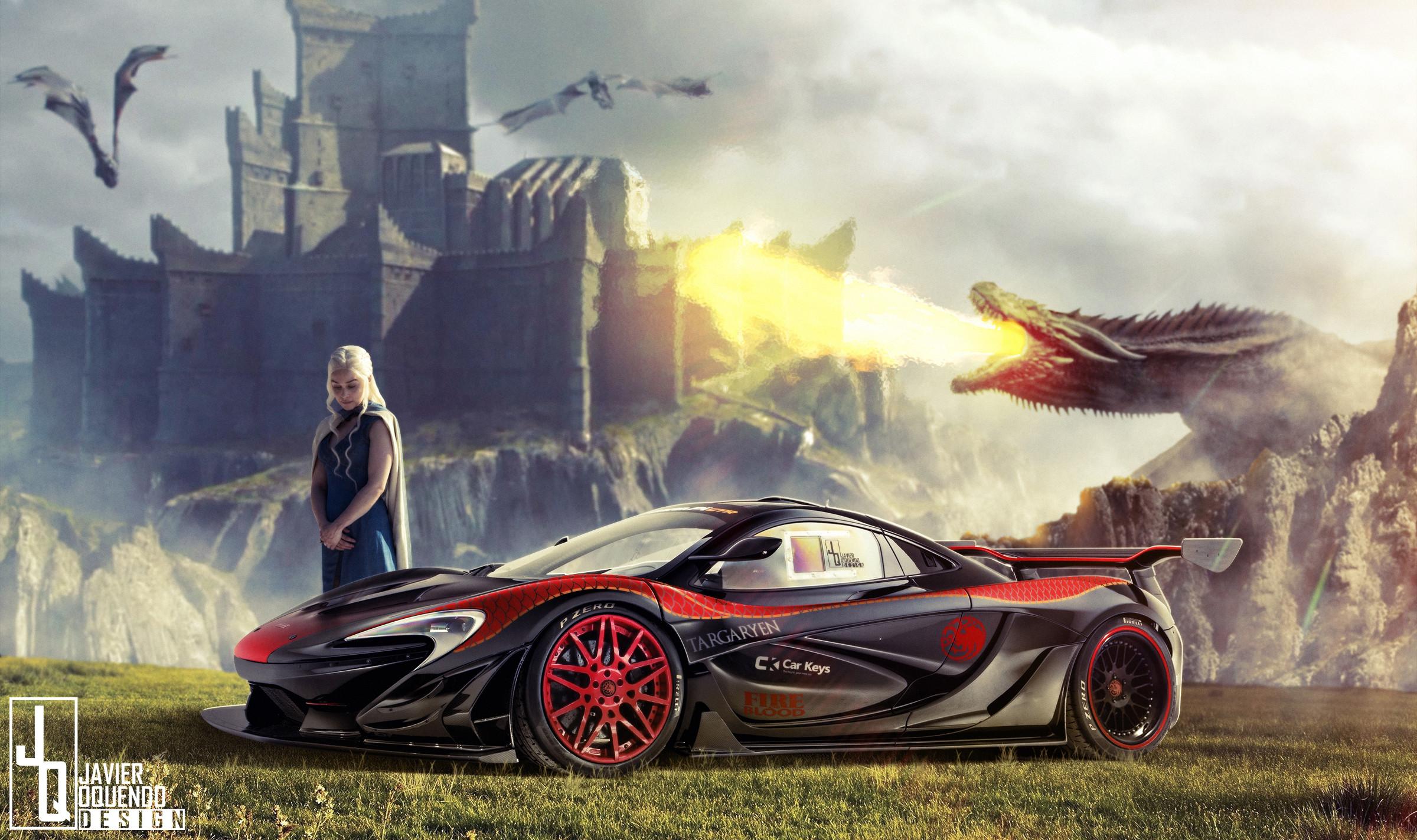 Daenerys Targaryen's McLaren P1 LM